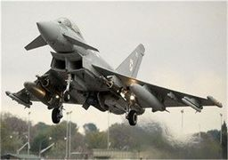 جنگنده انگلیسی در سوریه مفقود شد