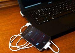 مضرات شارژ کردن گوشی با کابل USB