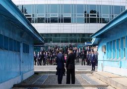 آلبوم عکس های منتخب از روز تاریخی ورود رهبر کره شمالی به خاک همسایه جنوبی
