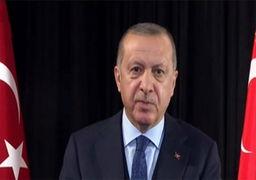 اردوغان: آمریکا ۲۳ هزار کامیون سلاح برای تروریستها فرستادهاست