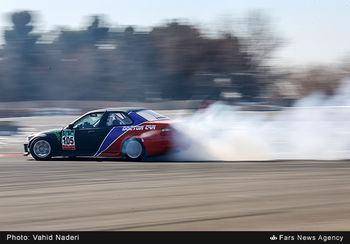 مسابقات اتومبیل رانی مخصوص بانوان +عکس