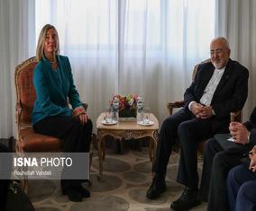 دیدار «محمدجواد ظریف» با «فدریکا موگرینی»