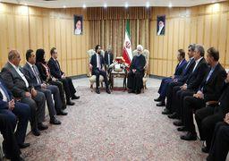 روحانی در دیدار رئیس مجلس عراق: امنیت و ثبات عراق و جمهوری اسلامی ایران در یکدیگر تأثیرگذار است