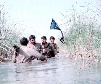 گزارشی از قرارگاه فوق سری نصرت سپاه+تصاویر