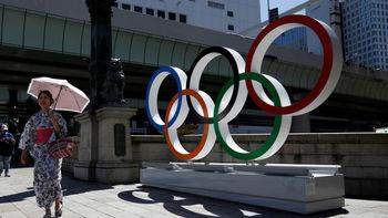 حمل مشعل بازیهای المپیک توکیو 2020 در فضا