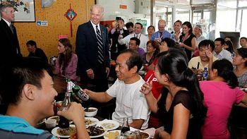 دعوت از جو بایدن برای خوردن جگر خوک!