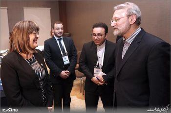 نشست مشترک رئیس مجلس صربستان با لاریجانی برگزار شد
