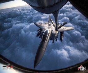 تصاویری از نیروی هوایی آمریکا در یک هفته