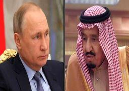 تاکید پوتین و ملکسلمان بر تقویت روابط دو کشور